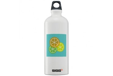 Fruta: Naranja Lima Limon Sigg Water Bottle Spanish Sigg Water Bottle 1.0L by CafePress