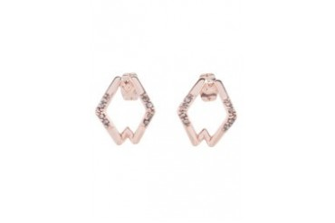 House Of Harlow 1960 Sound Waves Stud Earrings