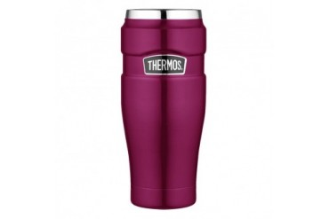 Thermos Stainless King Travel Tumbler 16 Oz Raspberry