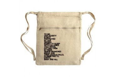 Lullabies, Funny, Sack Pack Funny Cinch Sack by CafePress