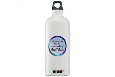 Were all made of Star Dust Space Sigg Water Bottle 1.0L by CafePress