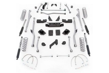 Rubicon Express 4.5 Inch Extreme Duty Radius Long Arm Lift Kit w/Shocks JKRR24M Complete Suspension Systems and Lift Kits