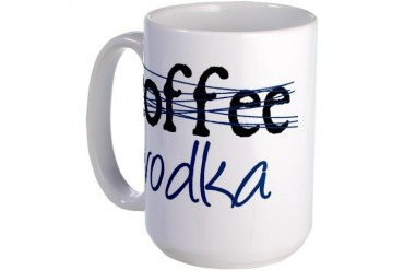 Vodka/Coffee Large Mug