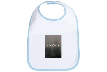 London.jpg Vintage Bib by CafePress
