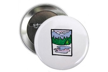 Tree Art 2.25 Button by CafePress