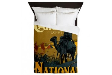National Hotel Cairo Egypt Africa Queen Duvet by CafePress