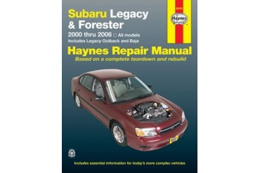 2000-2009 Subaru Legacy Manual Haynes Subaru Manual 89101 00 01 02 03 04 05 06 07 08 09
