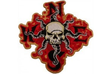 Disney Pirates of the Caribbean Compass Skull Patch