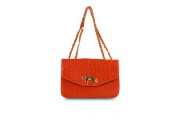 KUKI Bags Natalie Hand Bag Orange