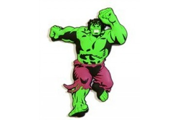 Marvel Comics Incredible Hulk Front View Mega-Mega Magnet