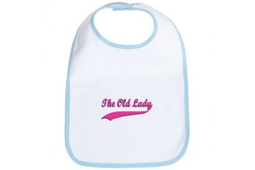 The Old Lady Grandma Bib by CafePress