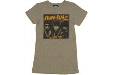 Run DMC It's Like That Group Baby Doll Tee by JUNK FOOD