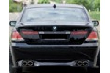 Rieger Rear Lip Spoiler BMW 7 Series E65 03-05