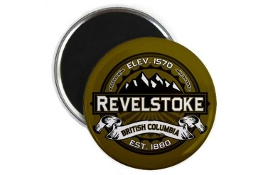 Revelstoke Olive Canada Magnet by CafePress