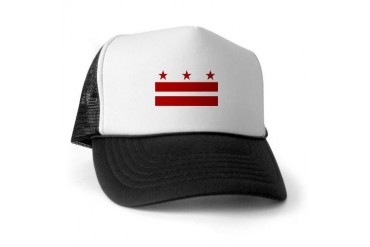 DC Pride Flag Trucker Hat by CafePress
