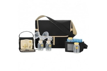 Medela Pump In Style Advanced Double Breastpump Metro Bag Kit Cooler Extras