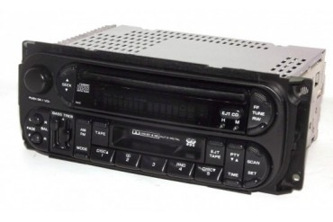 Jeep Chrysler Dodge 02-06 AM FM CD Cassette Car Truck Radio P05091605AC RAZ