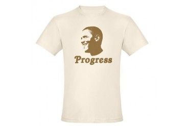 Obama for Progress Organic Cotton Tee