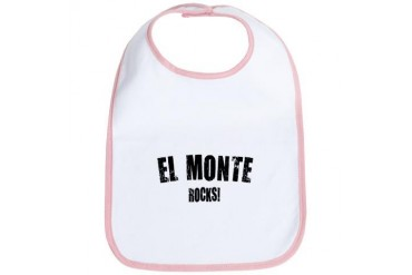 El Monte Rocks California Bib by CafePress