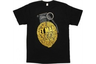 Portal 2 Lemon Grenade Cave Johnson Quote T-Shirt Sheer
