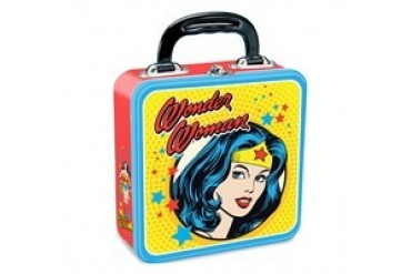 DC Comics Wonder Woman Lovely as Aphrodite Wise as Athena Tin Lunch Box
