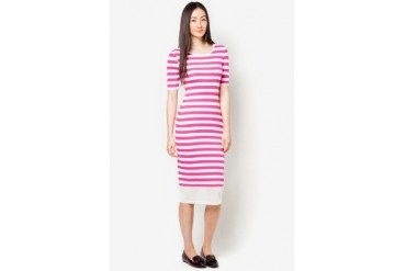 DressingPaula Long Dress With Stripes