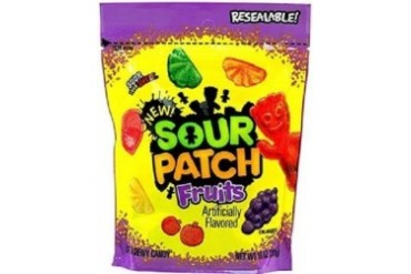 Sour Patch Fruits Chewy Sour Soft amp Chewy Candy
