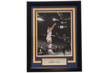 Steph Curry Framed 11x14 Golden State Warriors Photo