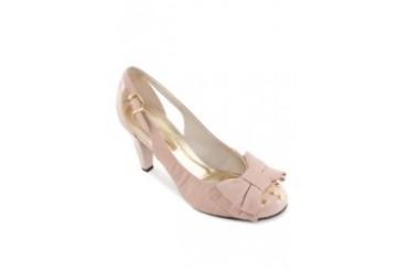 Satryani by Shoeville Pumps with Bow