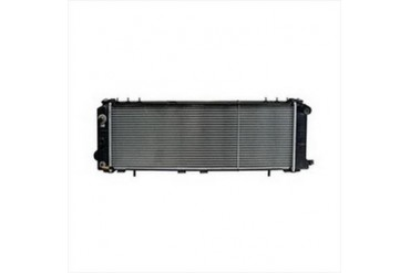 Omix-Ada Replacement 2 Core Radiator for 4.0L 4 Cylinder Engine with Automatic Transmission 17101.18 Radiator