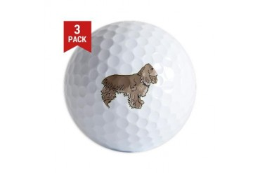 cocker-spaniel,png.png Pets Golf Balls by CafePress