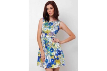 Shaw Sleeveless Dress