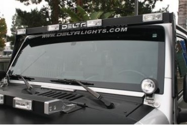 Delta Industries SkyBar w/ 4 H.I.D. Lights and LED Cab Lights 01-9570-HID4 Offroad Racing, Fog & Driving Lights