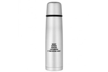 Large Thermos Bottle Love Large Thermosreg; Bottle by CafePress