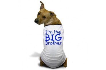 I'm the big brother Baby Dog T-Shirt by CafePress