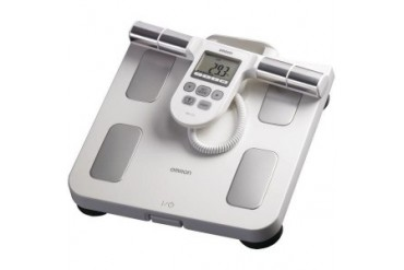 Omron Hbf-510w Full-Body Sensor Body Composition Monitor amp Scale (white)