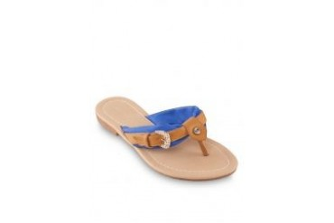 Noveni Sandals with Buckle in Blue