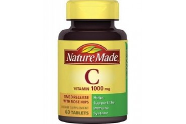 Nature Made Vitamin C 1000 mg Rose Hips Timed Release Tablets