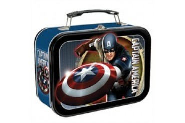 Marvel Comics Captain America the First Avenger Tin Lunch Box