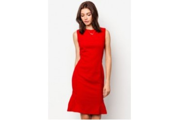 COVEQ London Fishtail Fitted Dress