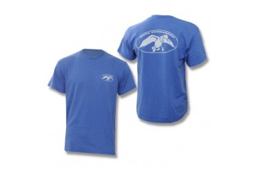 Duck Commander T-Shirt - Royal Blue Heather - S