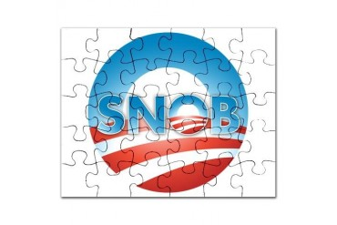 Nobama 2012 Obama Puzzle by CafePress