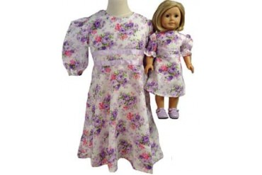 Girls amp Dolls Lavender Purple Dress Size 8