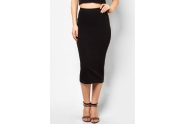 LASH Sold Midi Skirt