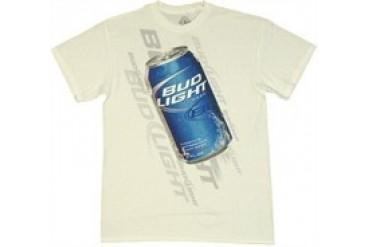 Anheuser-Busch Bud Light Can Graphic T-Shirt