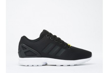 Adidas Originals ZX Flux Mens in Black White size 12.0