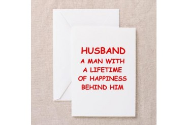 HUSBAND.png Funny Greeting Cards Pk of 10 by CafePress
