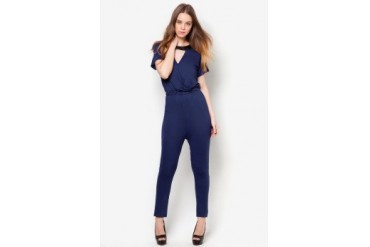 Something Borrowed Half Sleeved Jumpsuit