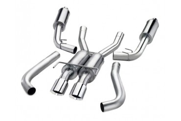 Corsa Sport Stainless 3-Inch Catback Exhaust 2.5-Inch Inlet Dodge Viper RTGTS 96-02