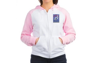 Fight Cancer Cancer Women's Raglan Hoodie by CafePress